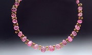 Necklace: Pink Tourmaline, 18K gold