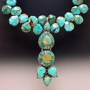 Necklace: Tibetan Turquoise